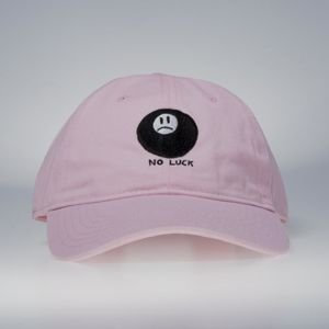 GLD No Luck Strapback Cap pink