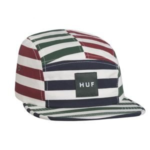 HUF 5Panel Cap Kennedy Box Logo Volley multicolor
