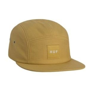 HUF Box Logo Volley 5 Panel Cap mustard