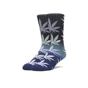 HUF Flame Gradient Socks black/blue