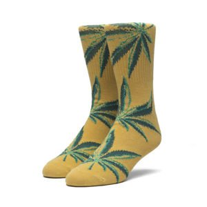 HUF Marco Plantlife Crew Socks honey mustard