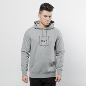 HUF sweatshirt Box Logo P/O Hoodie grey heather
