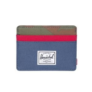 Herschel Charlie Wallet navy/ woodland camo / red 10360-00041