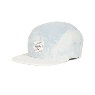 Herschel Glendale Classic 5Panel Cap bleached light denim 1007-0403