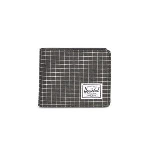 Herschel Hank PL + Wallet black grid 10369-01579
