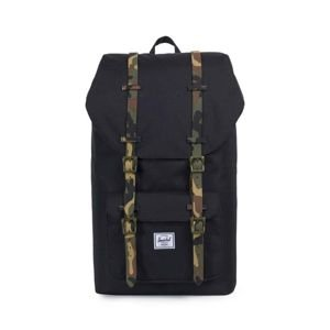 Herschel Little America Backpack black / woodland camo 10014-01869
