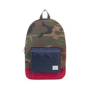 Herschel backpack Packable Daypack woodland camo / navy / red 10076-01411