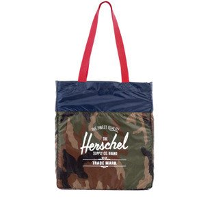 Herschel bag Pa Tote woodland camo / navy / red (10077-00187)