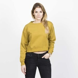 HomeBoy WMNS JHaily Sweat Crew Neck lime olive