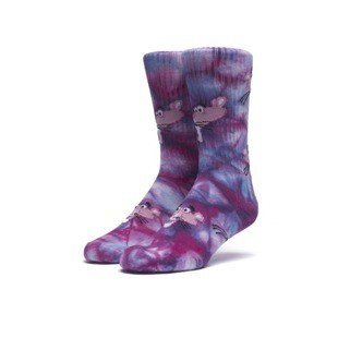 Huf x Pink Panther socks Tie Dye multicolor