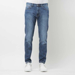 Intruz Trust Nobody Jeans blue washed denim