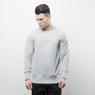 Intruz sweatshirt Criminals Crewneck grey heather