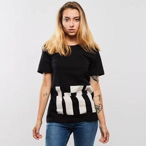 Intruz t-shirt Int Long powder black
