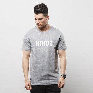 Intruz t-shirt Logo grey heather
