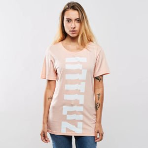 Intruz t-shirt Vertical Logo powder pink