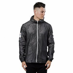 Jacket Unleashed x ETMA Crew B/W Windbreaker black
