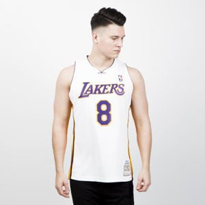 Jersey Mitchell & Ness Los Angeles Lakers  #8 Kobe Bryant white Authentic Jersey