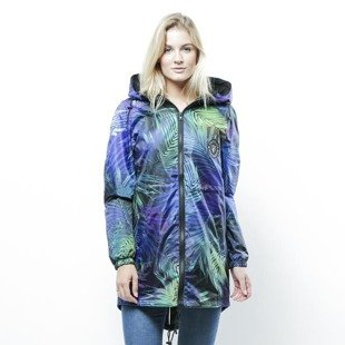 Jungmob Dark Colorfull Tropic Rain Jacket multicolor