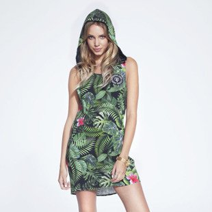 Jungmob Jungle Dress green / black