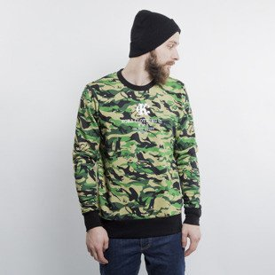 KOKA Naked Camo crewneck beige / green / black