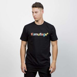 Kamuflage T-shirt Candy black