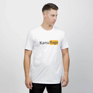 Kamuflage T-shirt Naughty white