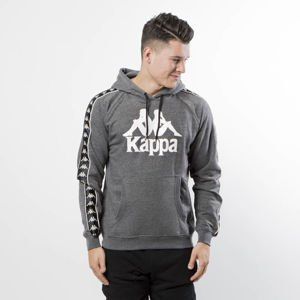 Kappa Damon Hooded Sweatshirt dark grey melange