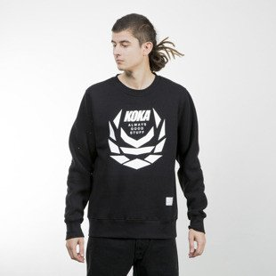 Koka Crewneck Fusion Laurel black