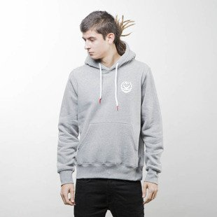 Koka Hoodie Tag Laurel heather grey