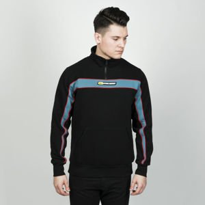 Koka sweatshirt 3/4 Zip Pulse black