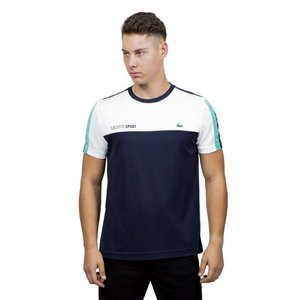 Lacoste Jersey T-shirt navy / white