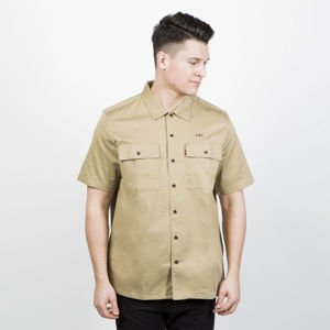 Levi's Skatebording Shirt Skate SS Button Down harvest gold