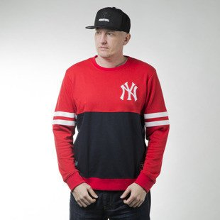 Majestic Athletic Chemin Crew Sweat New York Yankees red (MNY1436RP)