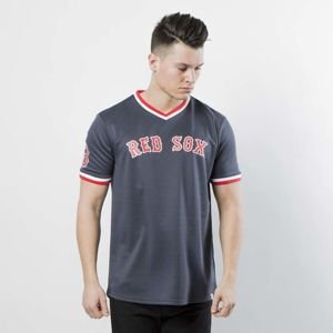 Majestic Athletic Woodner Polyester T-shirt Red Sox navy