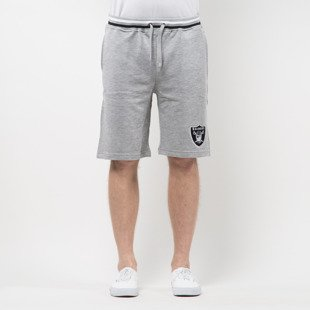 Majestic Athletic Wrest Tipped Loopback Short Oakland Raiders grey MOR2698E2