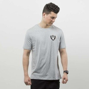 Majestic Athletic t-shirt Tovey Mid Longline Logo Carrier Tee Oakland Riders grey MOR2711E2