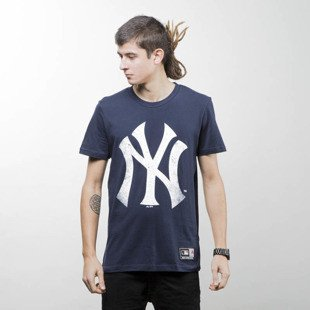 Majestic Athletic t-shirt Valen Large Logo Tee navy MNY2377NL