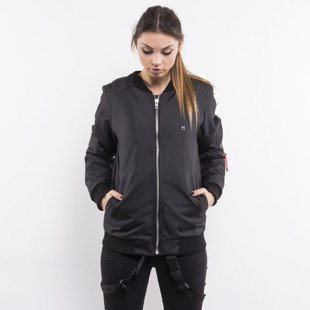Majors jacket Bomber 01 black WMNS