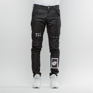 Majors pants Mayors Jeans black