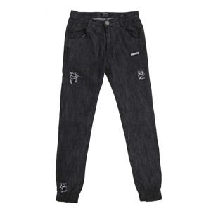 Majors pants Off Jeans Pants black