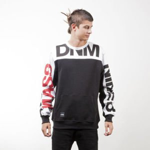 Mass Denim BLAKK sweatshirt Slogan crewneck black