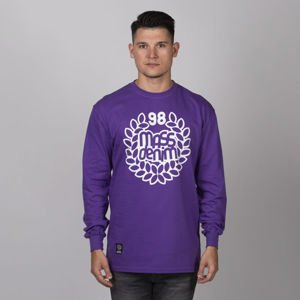 Mass Denim Base Longsleeve purple