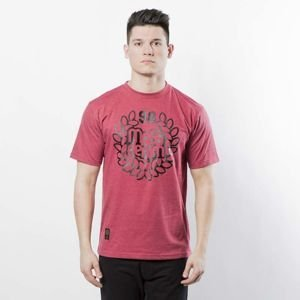 Mass Denim Base T-shirt heather claret