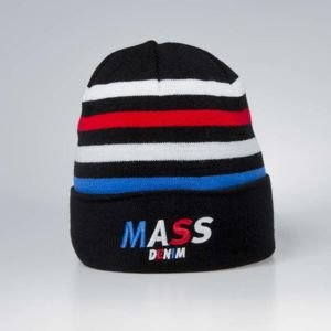 Mass Denim Beanie Grand black