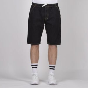 Mass Denim Classics Shorts Jeans straight fit black rinse