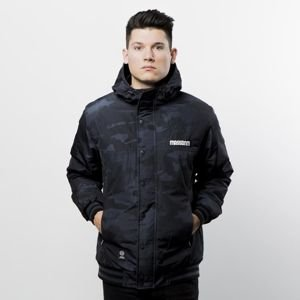Mass Denim District Jacket black camo