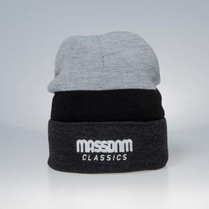 Mass Denim Division Beanie heather grey