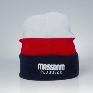 Mass Denim Division Beanie white