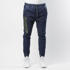 Mass Denim Half Camo Joggers Jeans Trap Fit rinse