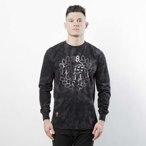 Mass Denim Longsleeve Base Tiedye black